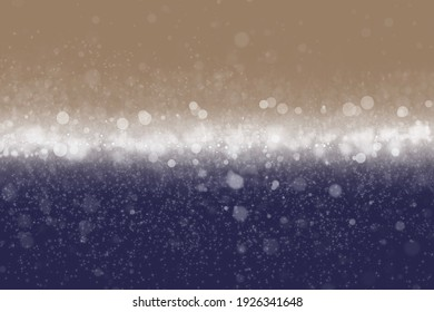 Abstract of bokeh background. Bokeh light. shimmering blur spot lights multicolored abstract background