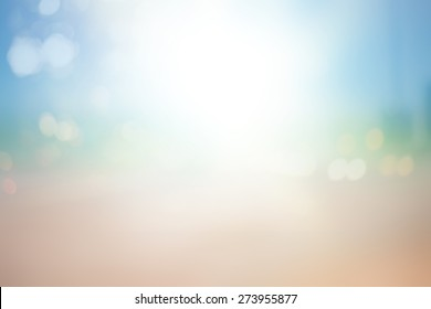 Abstract Bokeh Blurred on colorful background.Space For Text