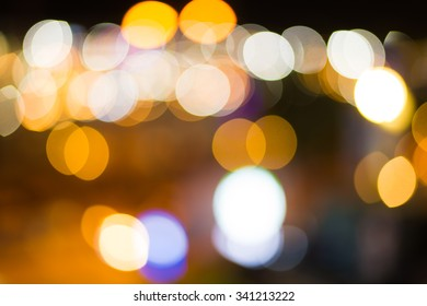 Abstract bokeh light background.