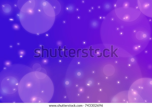 Abstract bokeh light Christmas and happy new year theme background.