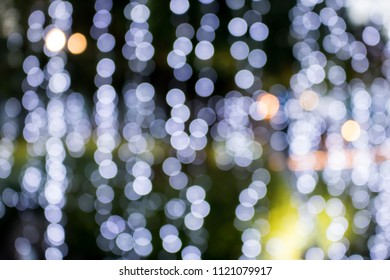 Abstract bokeh light on background.