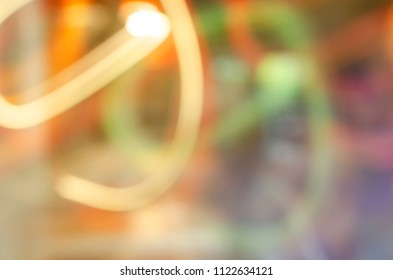 Abstract bokeh lights motion backgrounds