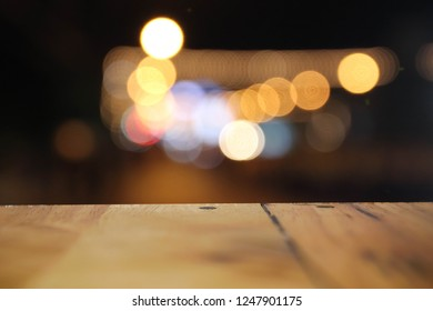 abstract bokeh street light background