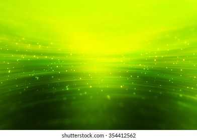 Abstract bright glitter green background