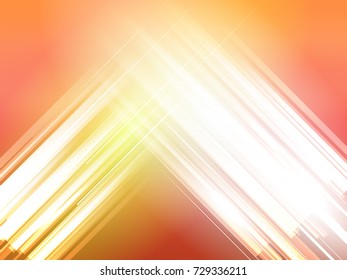 Abstract bright rectangle wave