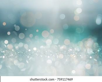 Abstract of Bright and sparkling bokeh background. silver and diamond dust bokeh-blurred lighting from glitter texture. Luxury design background.