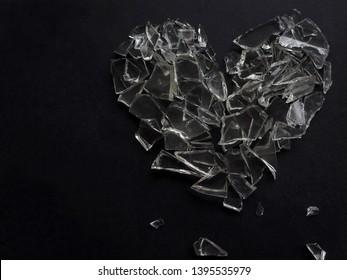 Imágenes, fotos de stock y vectores sobre Shattered Heart