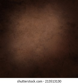 Abstract brown background. Abstract grunge black vignette border frame. Earthy background.