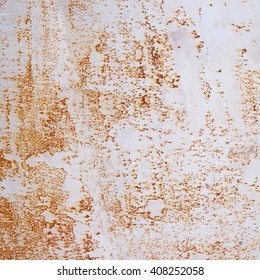 Abstract brown background texture of old rusty wall