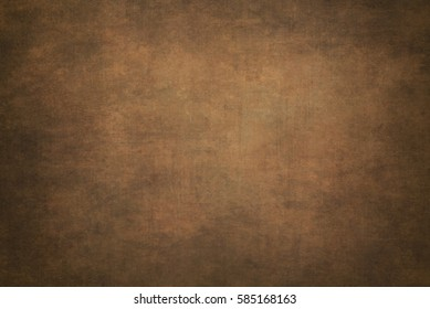 Abstract brown  hand-painted vintage background