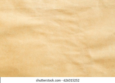Abstract brown recycle crumpled paper for background,crease of brown paper textures for design