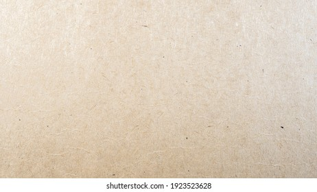 Abstract brown recycled paper texture background. Old Kraft paper box craft pattern. top view.
