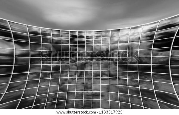 Abstract Building perspective