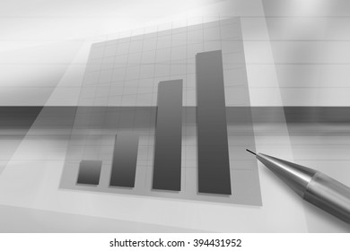 Abstract business background, illustrating the change in quotations
