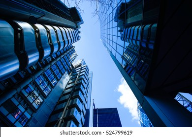Abstract Business office building in London