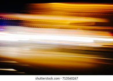Abstract car lights background