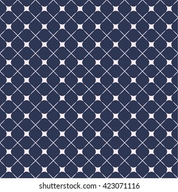 Abstract cell square pattern for paper and fabric design