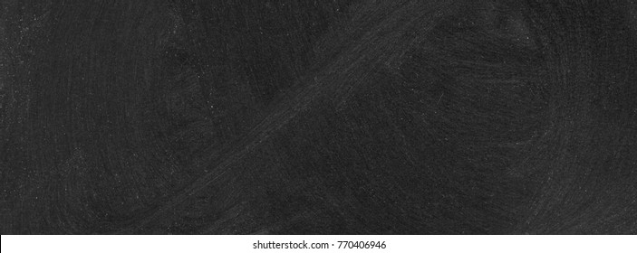 Abstract chalk blackboard with chalk scratch in learing classroom , dimention ratio for facebook cover ready used as background for add text or graphic