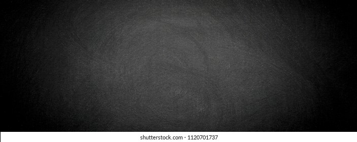 Abstract chalk blackboard with chalk scratch in learning classroom , dimention ratio for facebook cover ready used as background for add text or graphic