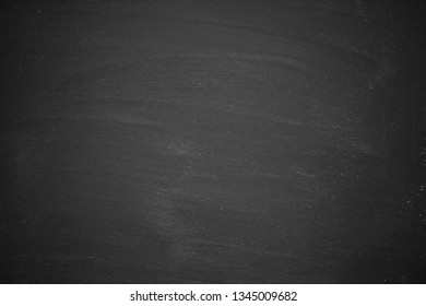 Abstract Chalk rubbed out on blackboard or chalkboard texture. clean school board for background or copy space for add text message.