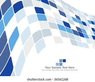 Abstract checked  business background. In my portfolio also available vector version of this picture.