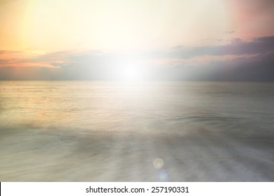 abstract christian nature sea filters background with blank space for Your text or image