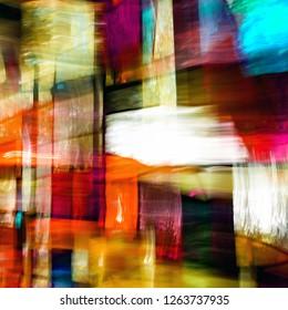 Abstract Church Window