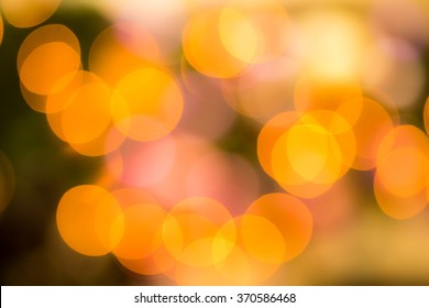 Abstract circular bokeh circles defocused bokeh lights facula background for Christmas background or photo composit.