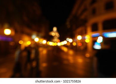 Abstract city bokeh