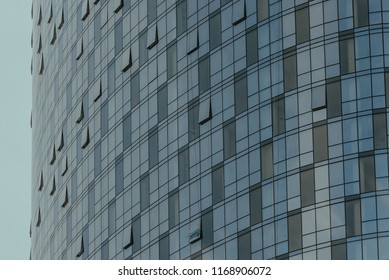 Abstract Closeup of City Building