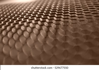 Abstract closeup of office furniture - sepia retro style