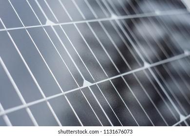 abstract closeup of solar panel