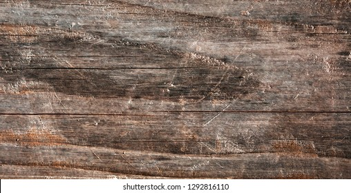 Abstract closeup of the wooden texture