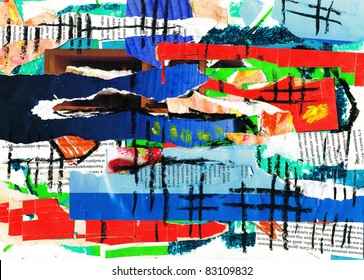 Abstract,  collage