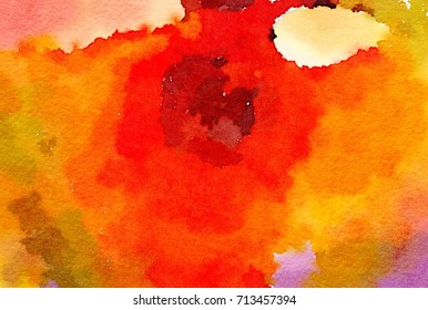 Abstract Color for Background Wallpaper Template, Colorful Free Form Art Pattern