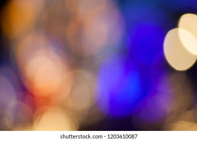 Abstract color bokeh defocused