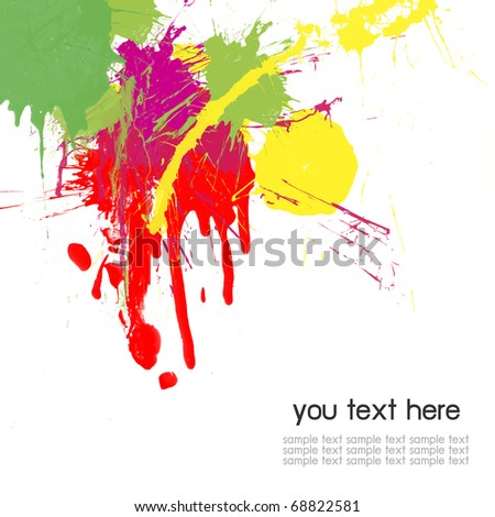 abstract color splash color background stock photo edit now