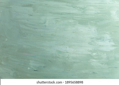 abstract colored background from stained colored oil paint on linen canvas