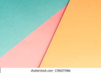 abstract colored paper background geometric pastel retro tone wallpaper
