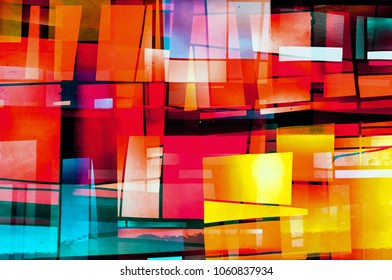 Abstract Colored Windows