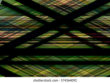 Abstract colorful background created using diagonal stripes. Neon colors. Illustration. Can be used for posters, fliers, or web design.