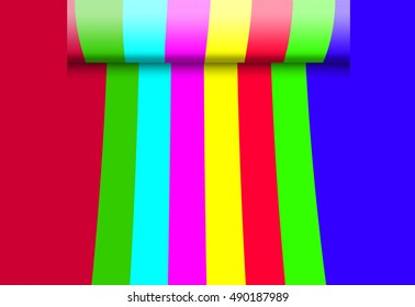 abstract colorful background / illustration