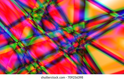 Abstract colorful background, illustration, line