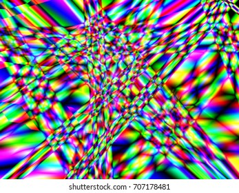 Abstract colorful background, line, illustration