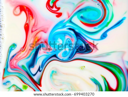Abstract Colorful Backgrounds Textures Food Coloring Stock Photo ...