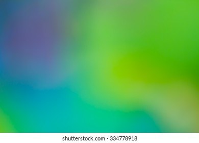 Abstract colorful blurred background, out of focus