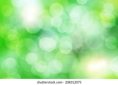Abstract colorful and bokeh background.