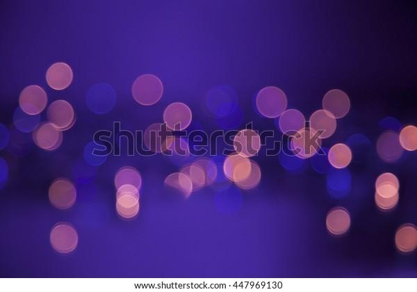 Abstract colorful circular bokeh background