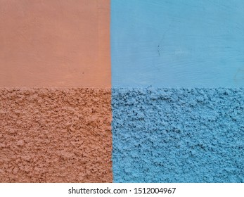 Abstract colorful concrete wall design for background and texture. cement color smooth and rough style space for designer