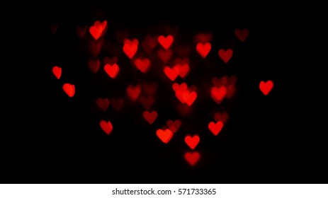 abstract colorful heart bokeh blurred 260nw 571733365